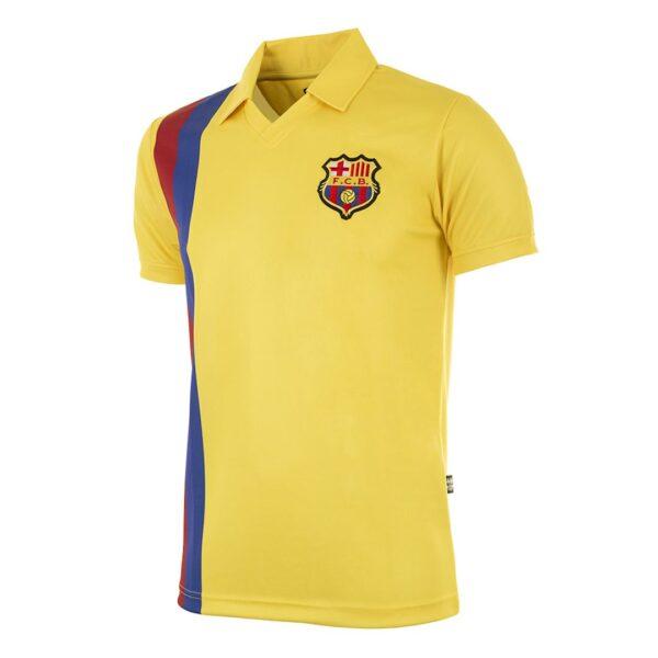 FC Barcelona 1981 - 82 Uit Retro Voetbalshirt