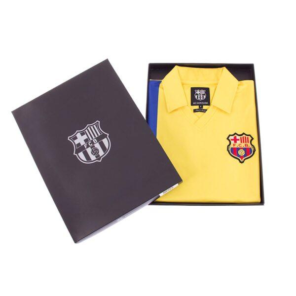 FC Barcelona 1981 - 82 Uit Retro Voetbalshirt 8