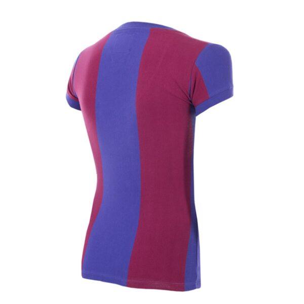 FC Barcelona 1976 - 77 Dames Retro Voetbalshirt 4