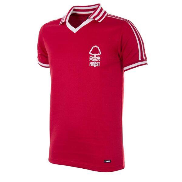 Nottingham Forest 1976-1977 Retro Voetbalshirt
