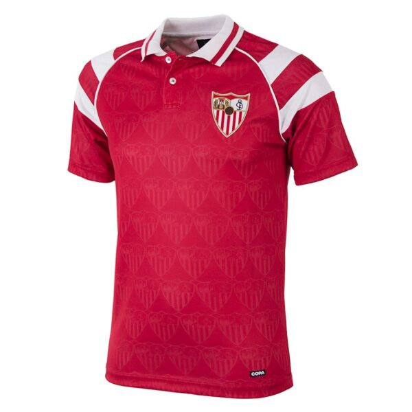 Sevilla FC 1992 - 93 Uit Retro Voetbalshirt