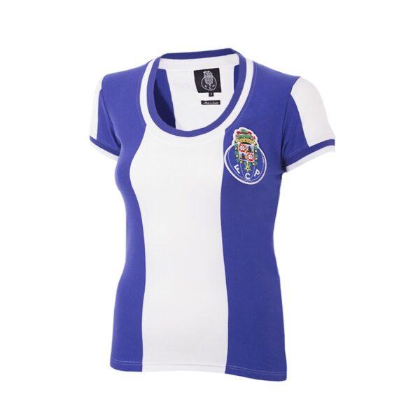 FC Porto 1971 - 72 Dames Retro Voetbalshirt