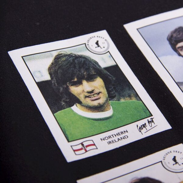 George Best Football Cards T-Shirt 6
