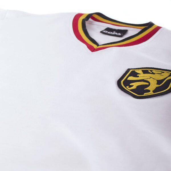 België Uit 1970's Retro Voetbalshirt 6