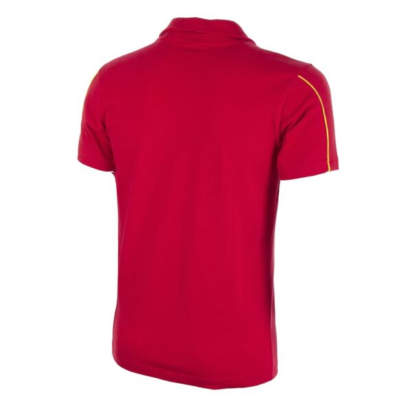 Spanje 1980's Retro Voetbalshirt 4