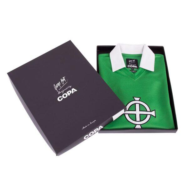 George Best Noord-Ierland 1977 Retro Voetbalshirt 6