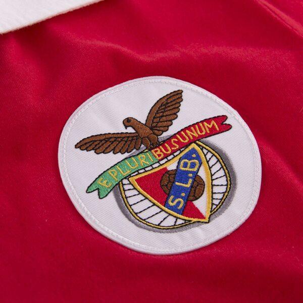 Benfica 1962 - 63 Retro Voetbalshirt 2