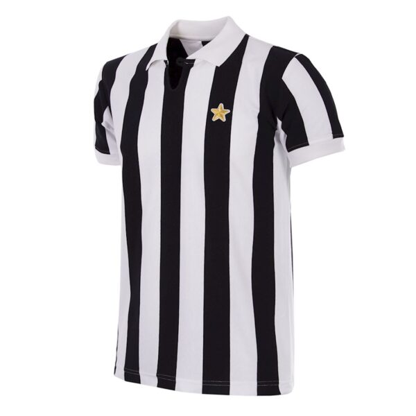 Juventus 1976 - 77 Coppa UEFA Retro Voetbalshirt