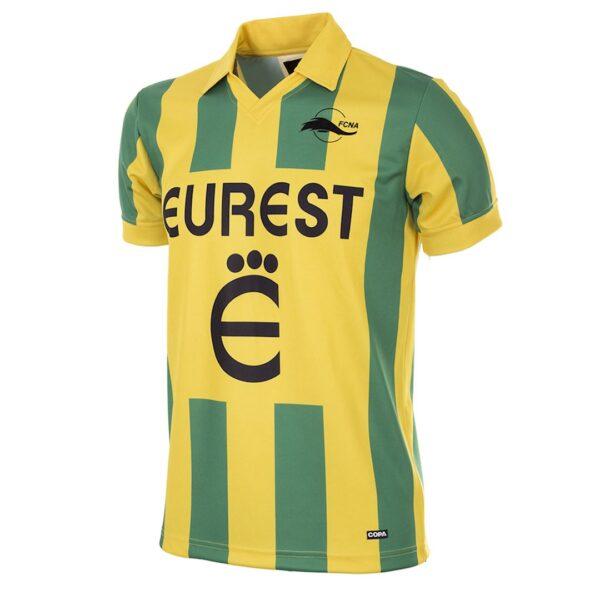 FC Nantes 1994 - 95 Retro Voetbalshirt