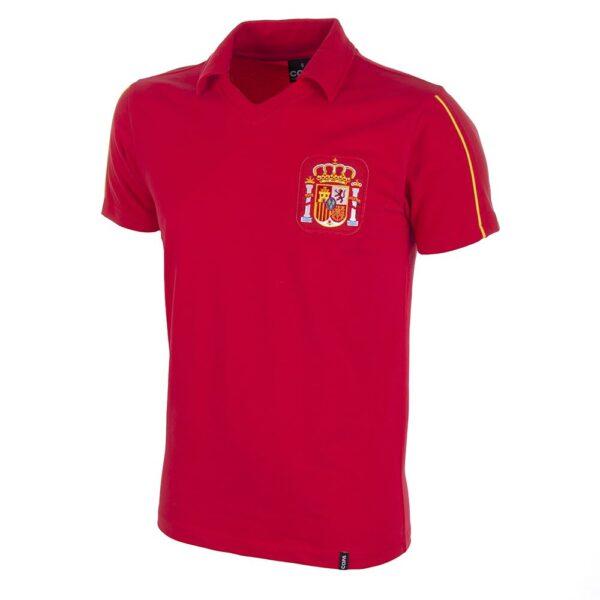 Spanje 1980's Retro Voetbalshirt