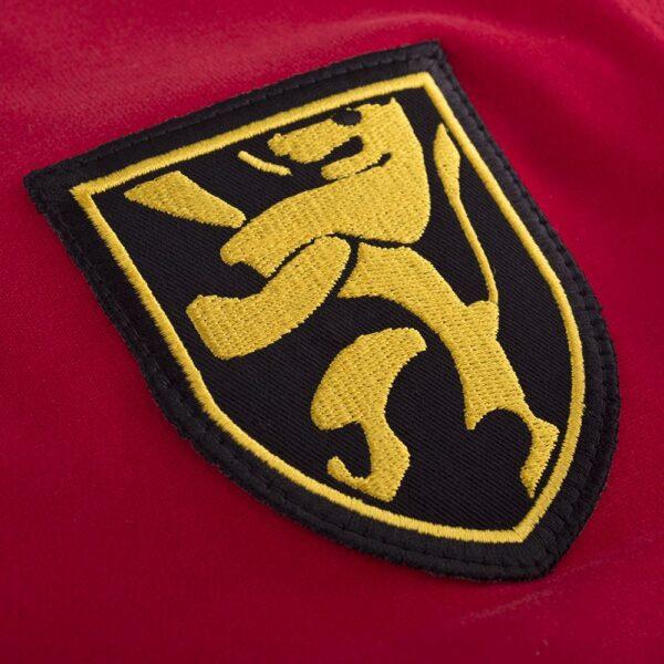 België 1960's Retro Voetbalshirt 2