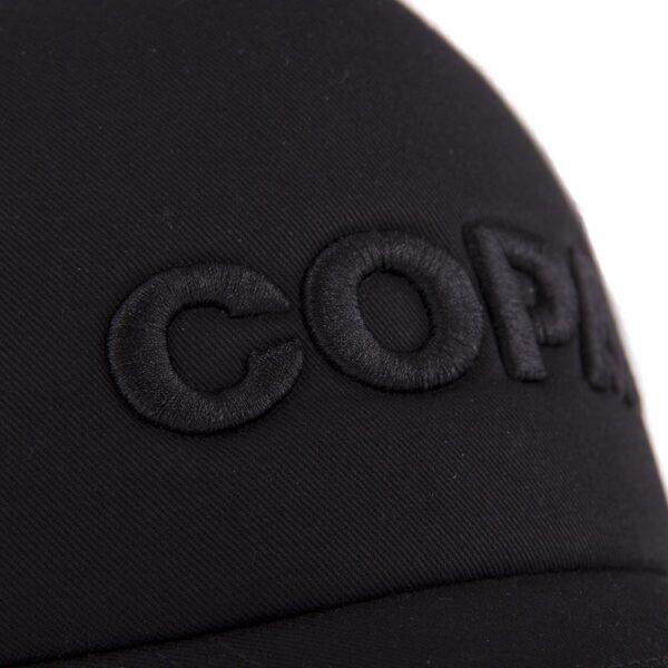 COPA 3D Black Logo Trucker Cap 10