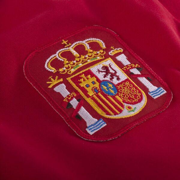 Spanje 1980's Retro Voetbalshirt 2
