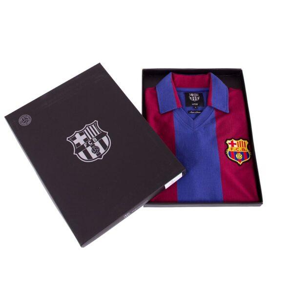 FC Barcelona 1980 - 81 Retro Voetbalshirt 8