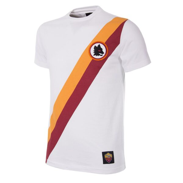 AS Roma Uit Retro T-Shirt