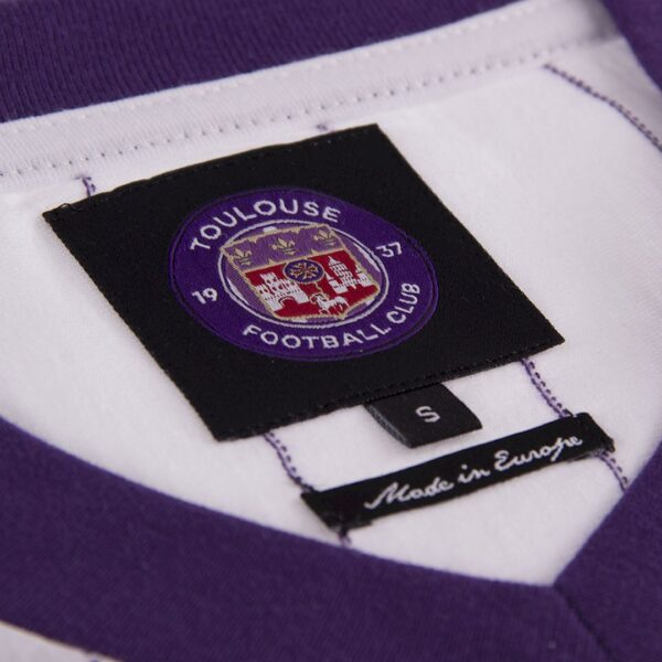 Toulouse FC 1983 - 84 Uit Retro Voetbalshirt 8