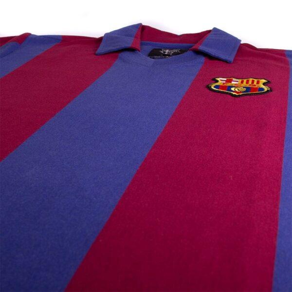 FC Barcelona 1980 - 81 Retro Voetbalshirt 6