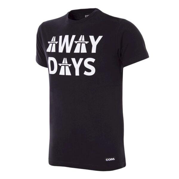 Away Days T-Shirt | Zwart