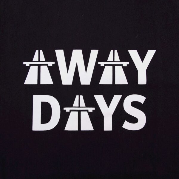Away Days T-Shirt | Zwart 2