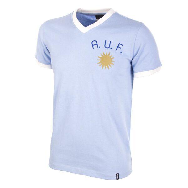 Uruguay 1970's Retro Voetbalshirt