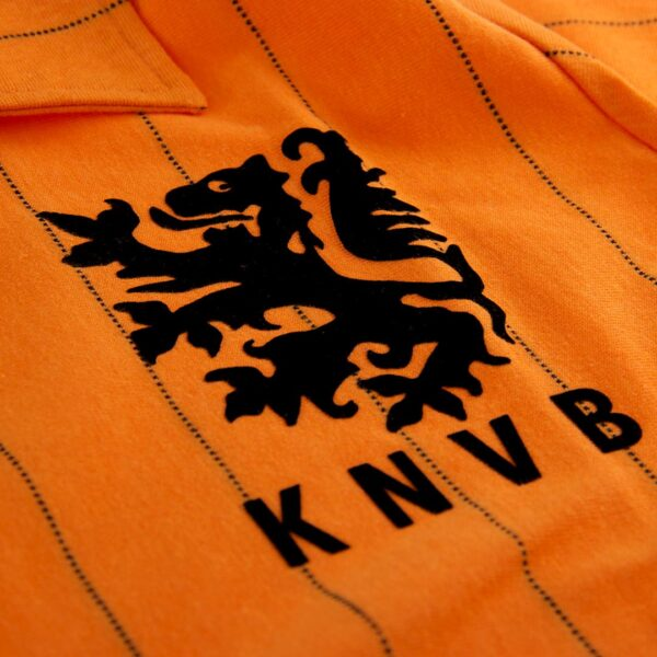 Holland 1983 Retro Voetbalshirt 4