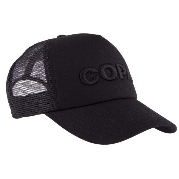 COPA 3D Black Logo Trucker Cap 4
