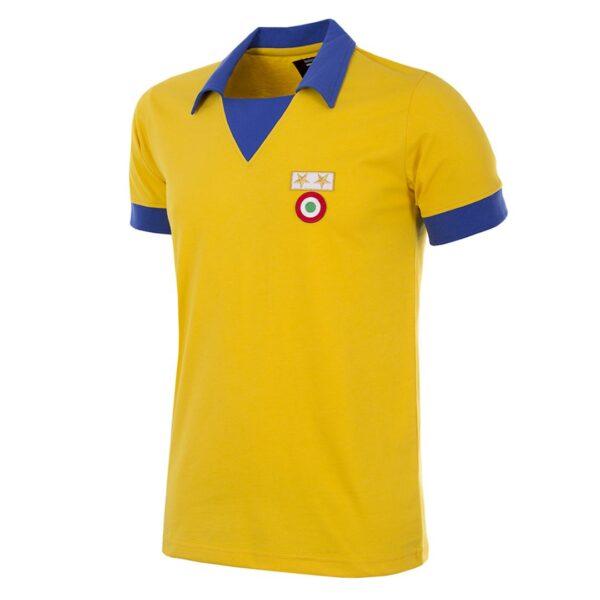 Juventus 1983 - 84 Uit Coppa delle Coppe UEFA Retro Voetbalshirt