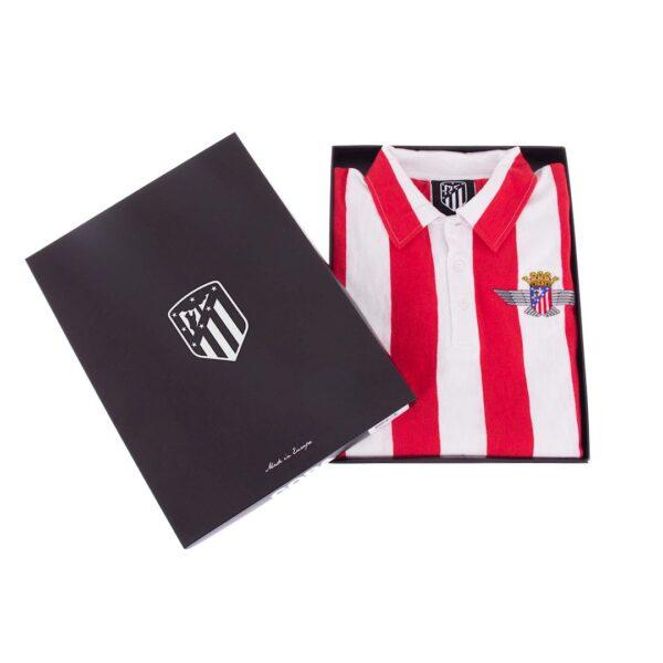 Atletico Madrid 1939 - 40 Retro Voetbalshirt 8