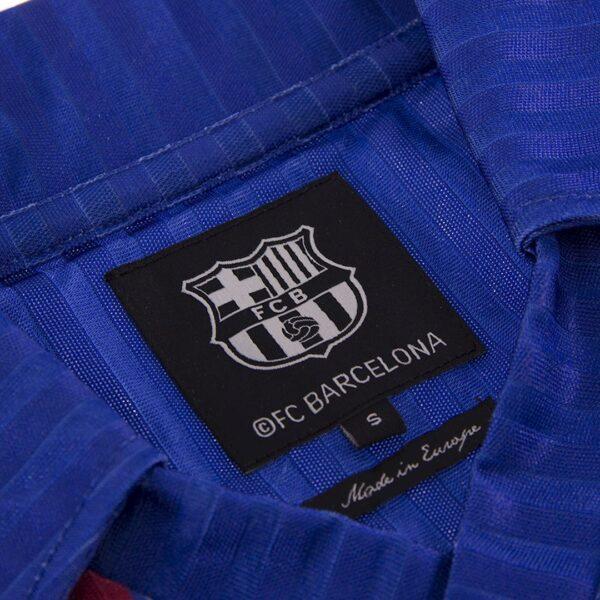 FC Barcelona 1990 - 91 Retro Voetbalshirt 6
