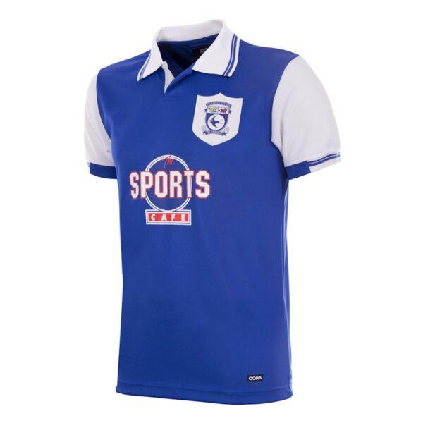 Cardiff City FC 1998 - 99 Retro Voetbalshirt