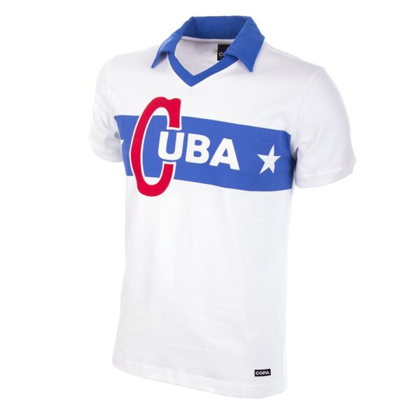 Cuba 1962 Castro Retro Voetbalshirt