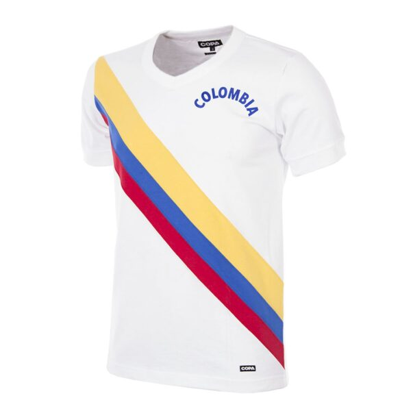 Colombia 1973 Retro Voetbalshirt
