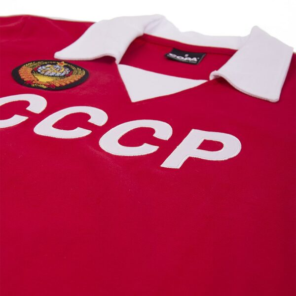 CCCP 1980's Retro Voetbalshirt 6