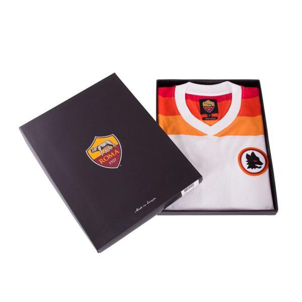 AS Roma 1978 - 79 Uit Retro Voetbalshirt 10