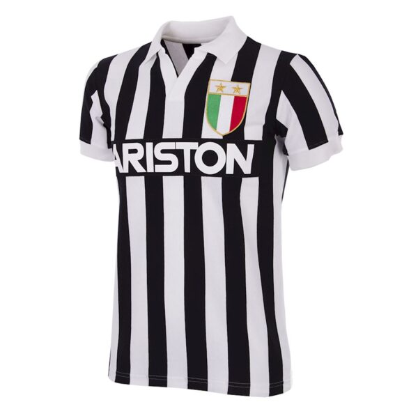 Juventus 1984 - 85 Retro Voetbalshirt