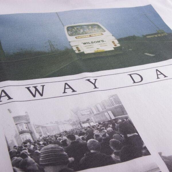 Away Days T-Shirt | Wit