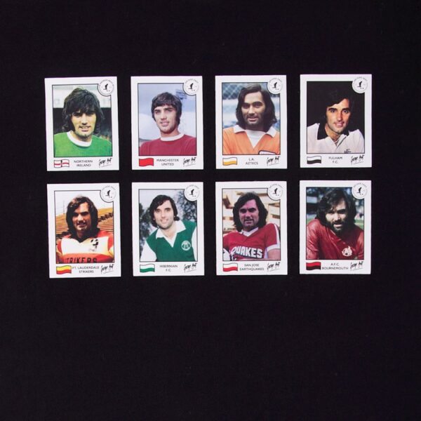 George Best Football Cards T-Shirt 2