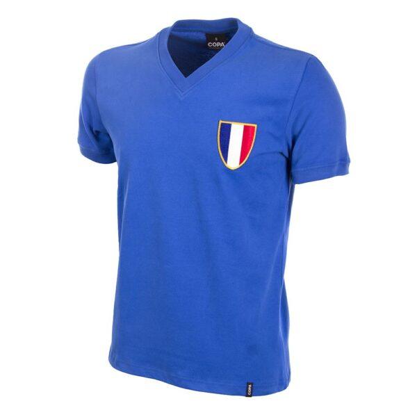 Frankrijk 1968 Olympics Retro Voetbalshirt