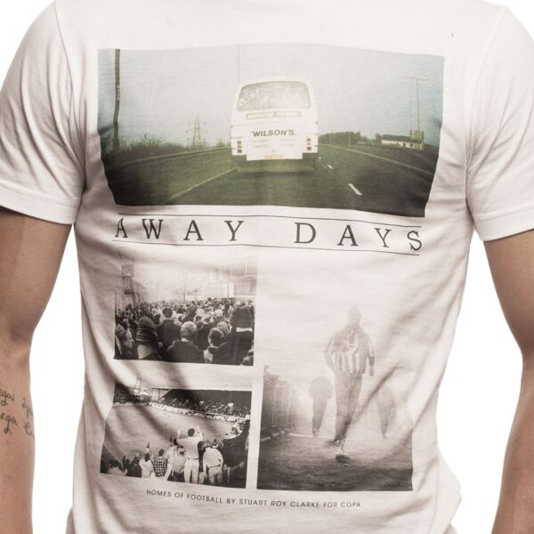 Away Days T-Shirt | Wit 6