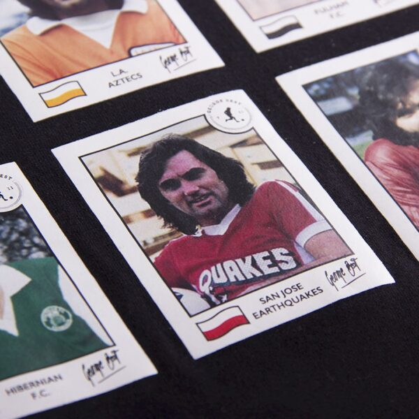 George Best Football Cards T-Shirt 4