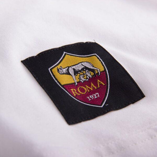 AS Roma Retro Logo T-Shirt 6