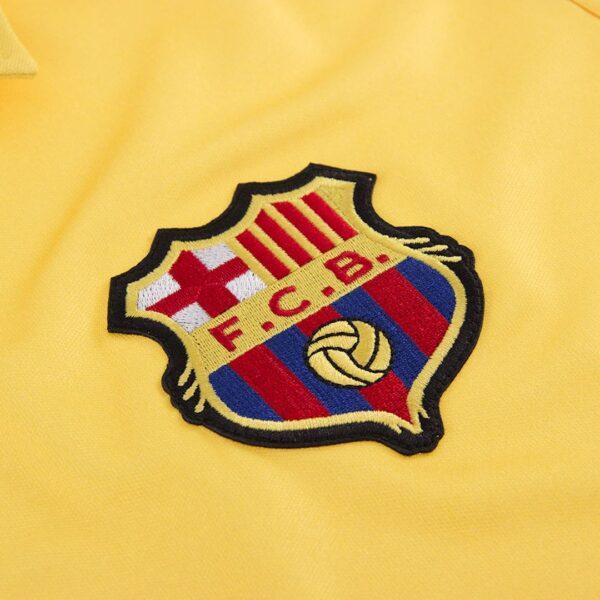 FC Barcelona 1981 - 82 Uit Retro Voetbalshirt 2