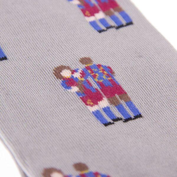 FC Barcelona Puyol - Abidal Casual Sokken 4