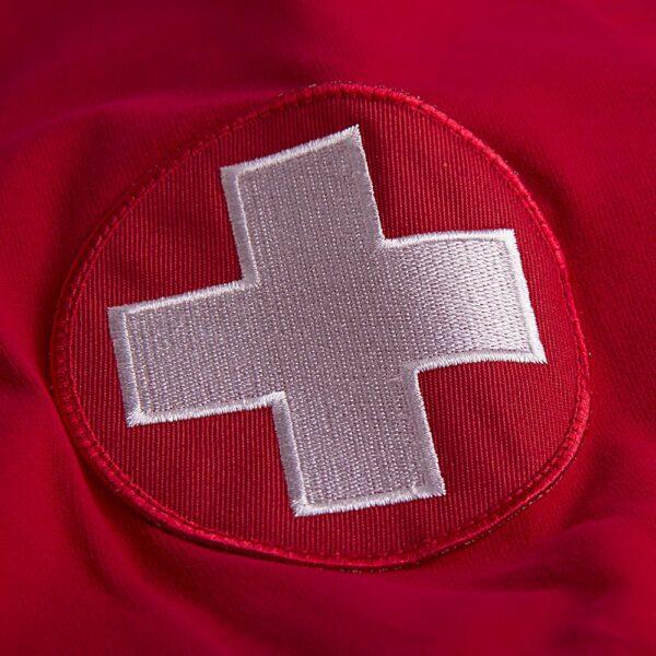 Zwitserland WK 1954 Retro Voetbalshirt 2