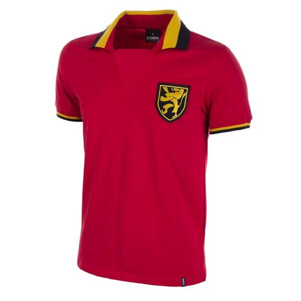 België 1960's Retro Voetbalshirt