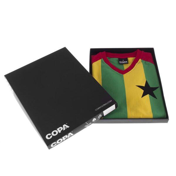 Ghana 1980's Retro Voetbalshirt 8