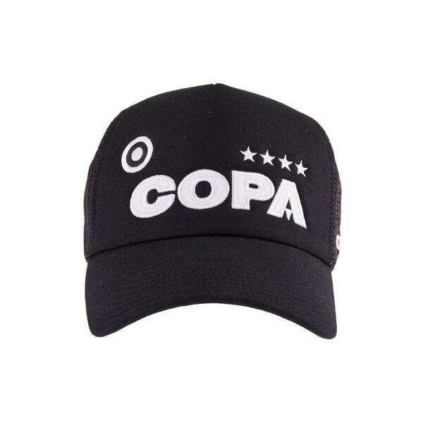 COPA Campioni Black Trucker Cap 2