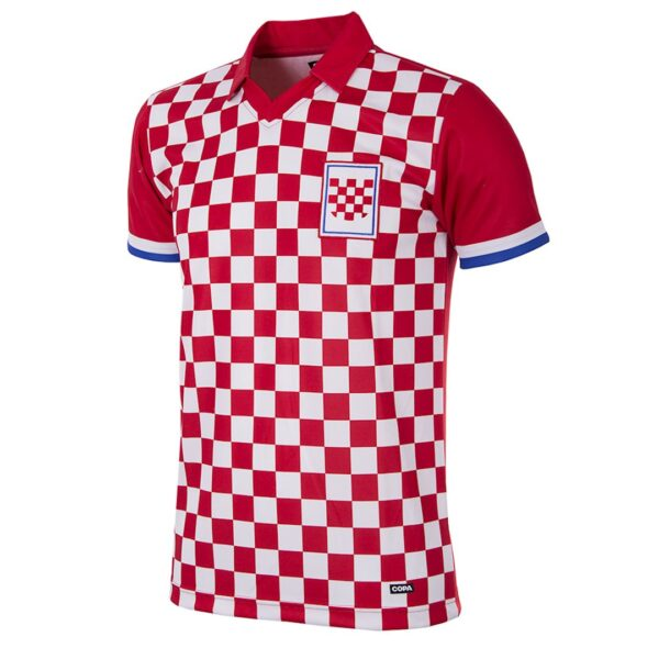 Kroatië 1992 Retro Voetbalshirt