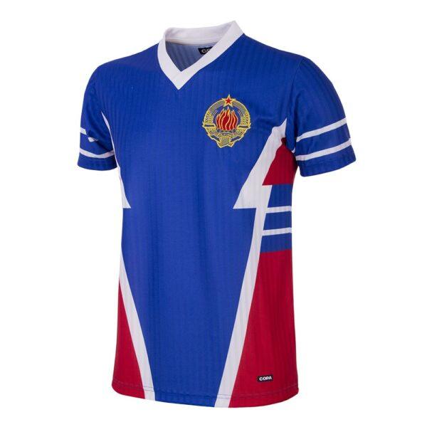 Joegoslavië 1990 Retro Voetbalshirt