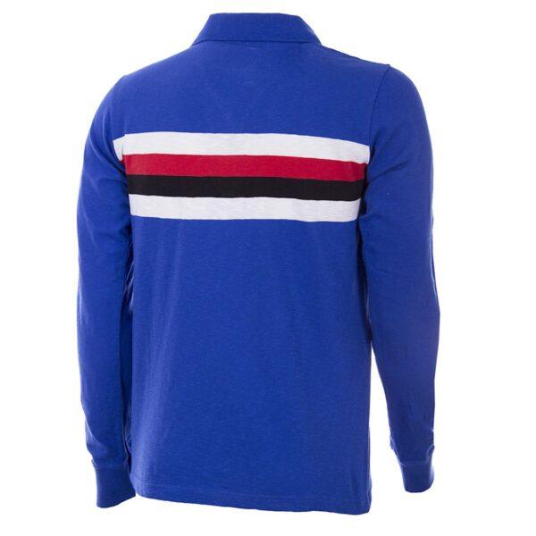 Sampdoria 1956 - 57 Retro Voetbalshirt 4